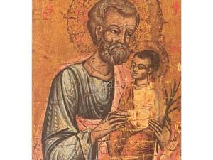San Giuseppe con Gesù in braccio