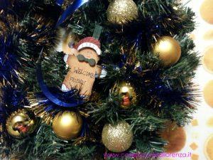 Natale – Ghirlanda blu e oro