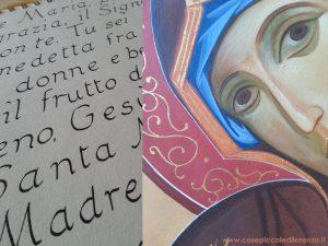 0004 Piccole riflessioni di un'allieva iconografa: Le icone si scrivono o si dipingono?
