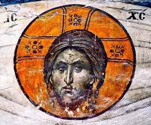 Volto del Salvatore, Acheropita Affresco nella chiesa di San Nicola Orphanòs, Salonicco, Grecia. http://malwaretips.com/threads/shroud-of-turin-latest-news-and-pictures.7030/page-4