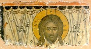 Mandylion, XVI-XVII secolo Affresco, Monastero Dionysiou, Monte Athos, Grecia. http://www.artbible.net/2NT/PORTRAITS%20OF%20JESUS%20CHRIST...%20PORTRAITS%20DE%20JESUS%20CHRIST/16%20VISAGE%20DU%20CHRIST%20MT%20ATHOS%20COPIE%20DU%20MANDYLION.jpg http://www.spiritualite-chretienne.com/christ/Art/Visage-3.html