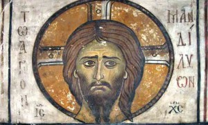 Santo Volto Affresco, XII secolo. Kato Lefkara, Cipro. https://gerontes.files.wordpress.com/2014/08/mandelion.jpg