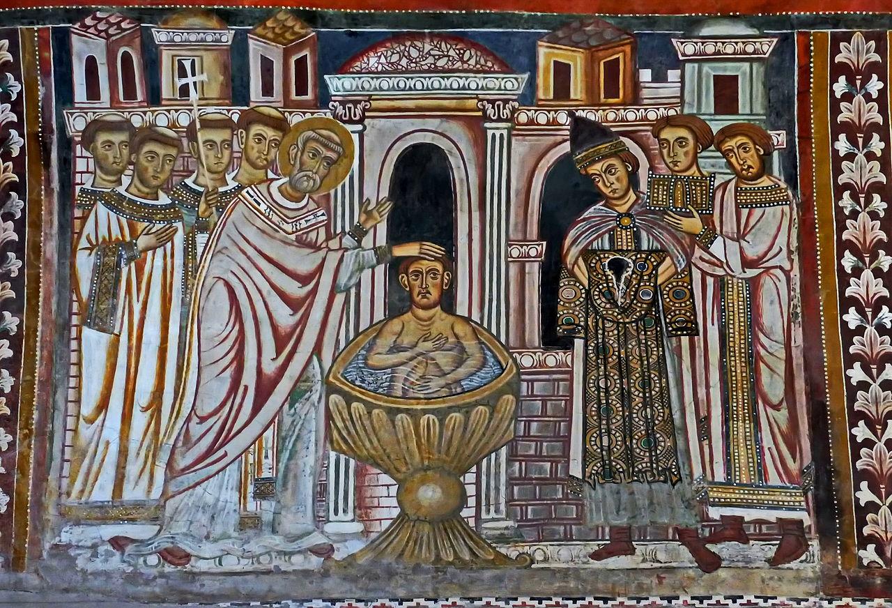 Oratorio di San Silvestro – Santi Quattro Coronati : Cose Piccole di Lorenza
