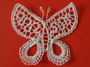 Farfalla in pizzo a tombolo